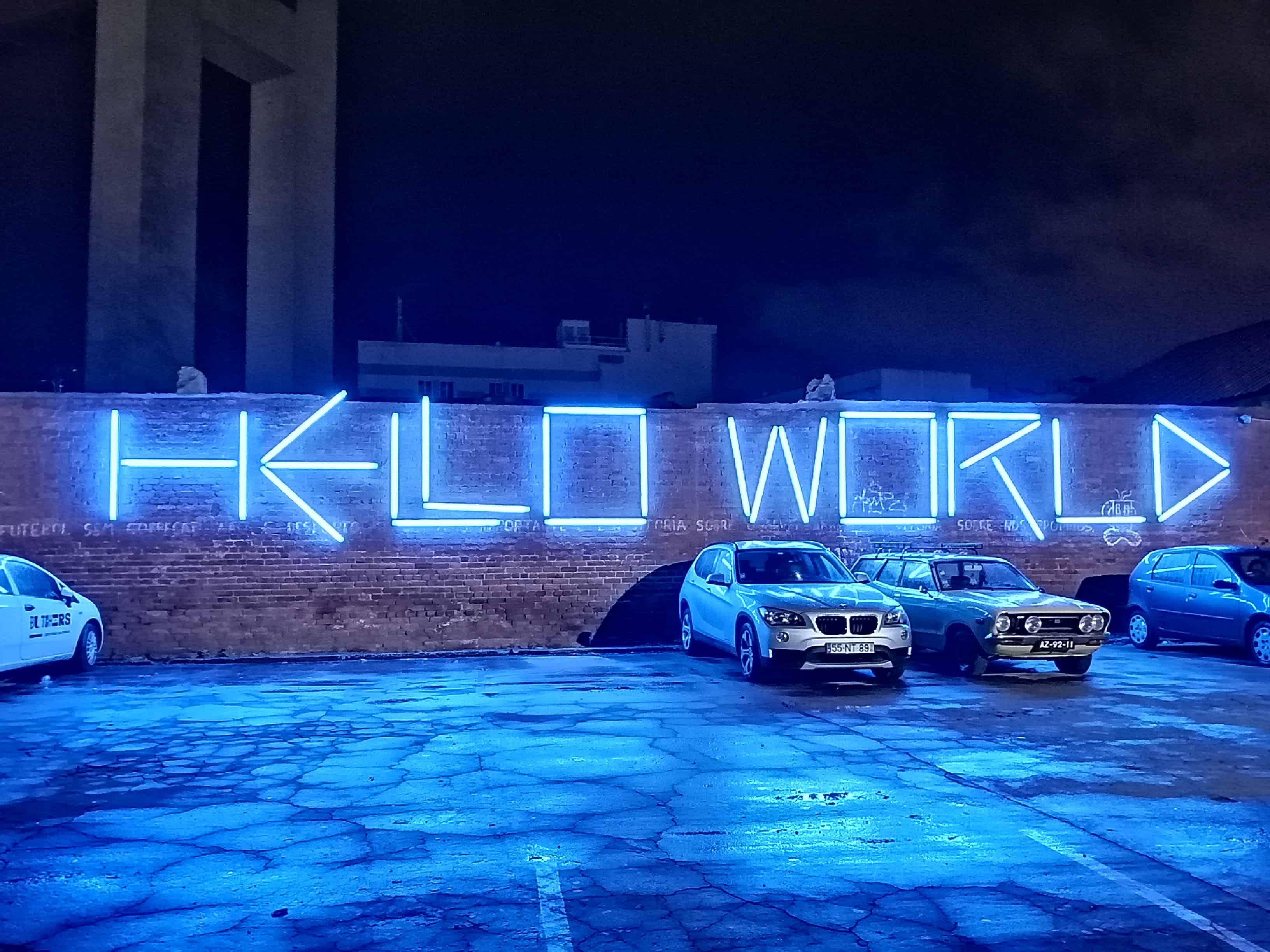 Hello World - LX FActory - Web Summit 2019