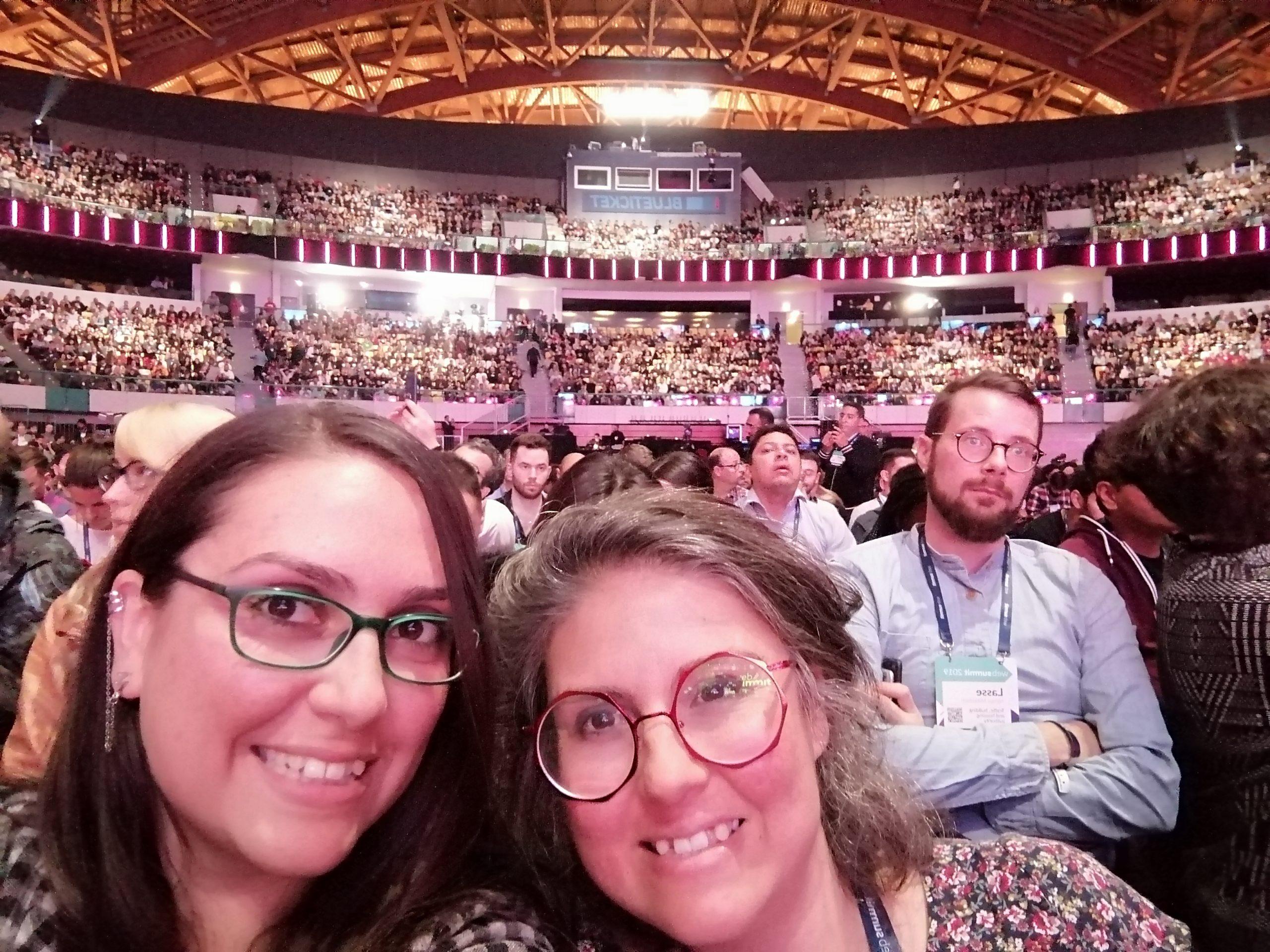 Etnonautas at Opening Night - Altice Arena - Web Summit 2019