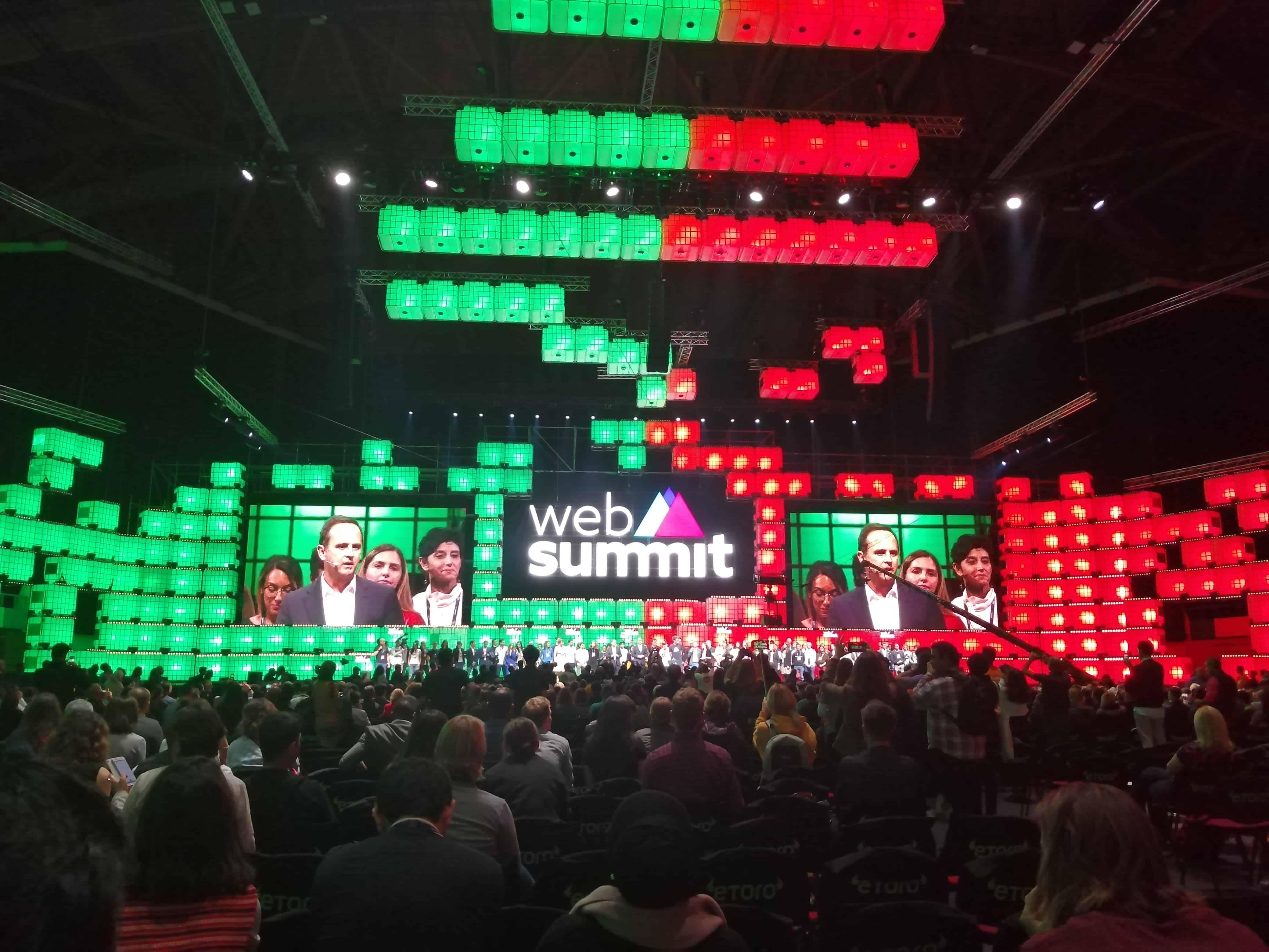 Fernando Medina - Mayor, City of Lisbon - Opening Night - Web Summit 2019