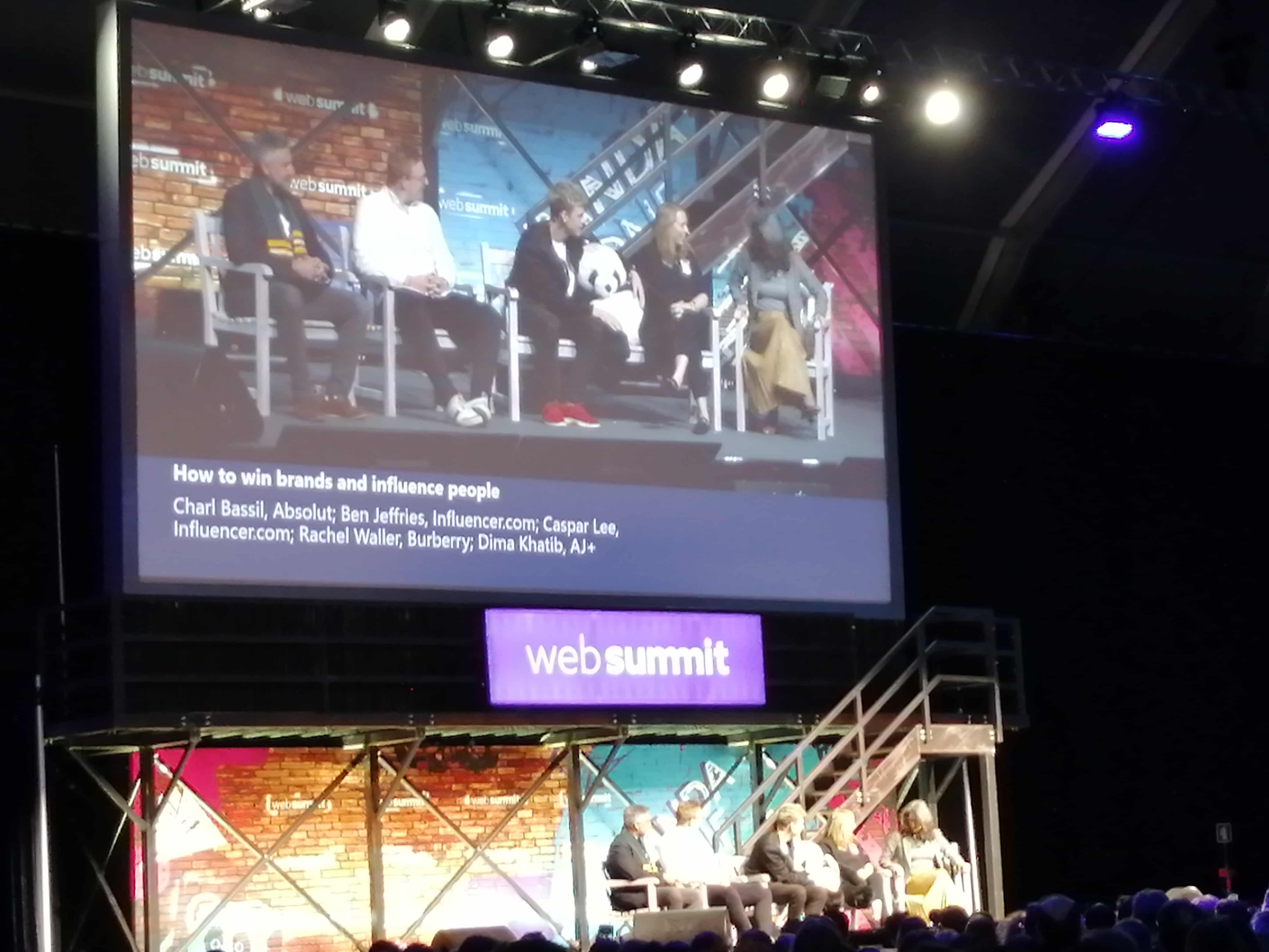 How to win brands and influence people - Web Summit 2019